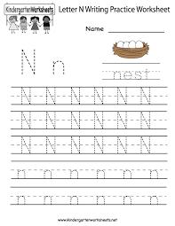 letter n worksheets for preschool - Google Search | Learning ...