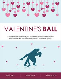 Valentines Flyers Valentines Day Flyer