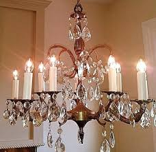 antique crystal chandelier favorite things antique crystal chandelier appraisal