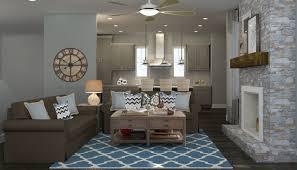 Rustic Living Room Modern Rustic Living Room Design