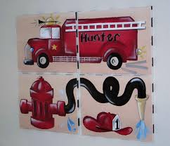 fire truck wall decor home decorating ideas