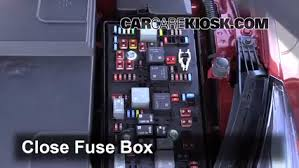 replace a fuse 2013 2013 chevrolet bu 2013 chevrolet bu 6 replace cover secure the cover and test component