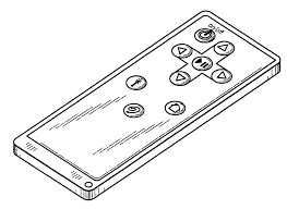 remote control drawing. patent drawing remote control -