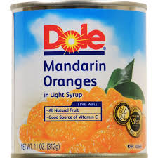 Image result for canned oranges