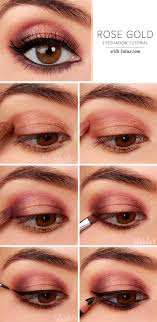 how to do smokey eye makeup for brown eyes