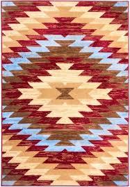 southwestern rug red rugs 8x10