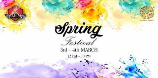 Spring Festival Spring Festival In Bahria Town Lahore At The Arena