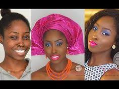 glam face beat series 2 how to nigerian traditional wedding makeup tutorial