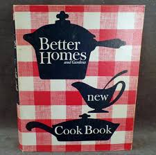 vintage better homes and gardens 1965 new cook book with recipe favorites to expand