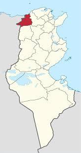 جندوبة خريطة جندوبة تونس خريطة شمال أفريقيا أفريقيا