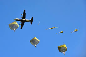 u s department of defense photo essay u s paratroopers parachute over