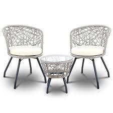 gardeon outdoor patio chair and table