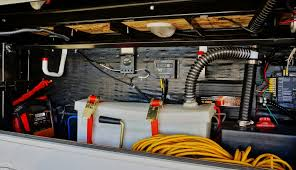 upgrading my rv battery bank and 12 volt system Battery Wiring For 6 front storage bay old battery setup and wiring battery wiring for 6 volt tractor