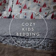 winter cozy bed