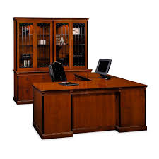 executive desk wooden traditional commercial innsbruck