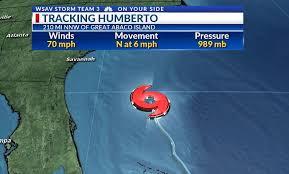 Humberto nears hurricane strength | WSAV-TV