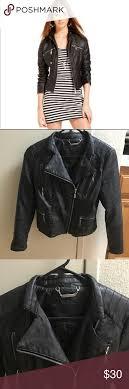 jou jou juniors jacket faux leather