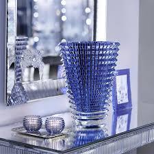 baccarat blue eye vase extra large