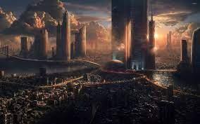 Future City 3D Art Wallpapers - Top ...