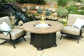 dining fire table outdoor dining height fire table propane fire pit round outdoor dining table with