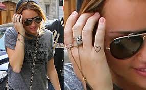 Tetování Srdce World Of Miley Cyrus
