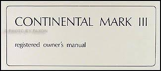 1969 lincoln mark iii wiring diagram manual reprint 1969 lincoln continental mark iii original owner s manual