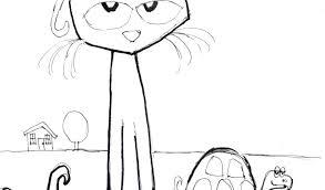 Pete The Cat Coloring Page The Cat Coloring Page Pete The Cat