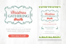 brand new christmas designs to inspire your holiday projects christmas gathering flyer fb cover