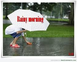 Good Morning Rainy Day Quotes Best of Rainy Day DesiComments