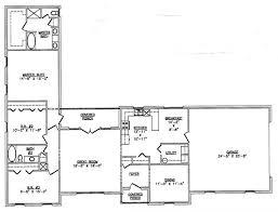 Plan ld Family Privacy L Shape House Shaped House Plans    L Shaped Ranch House Floor Plans On Simple Bedroom Hacienda Ranch House Plans   shaped house plans