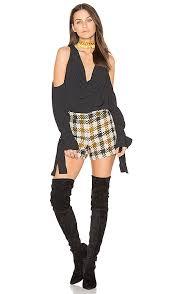 Keepsake Twin Peaks Top Black Women Keepsake Dress Size
