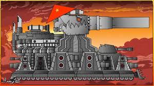 Cách vẽ xe tăng Дора kết hợp КВ-44 Việt Nam | Phim hoạt hình về xe tăng