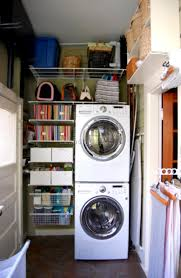 Washer Dryer Shelf Stackable Washer And Dryer Laundry Room Ideas 6 Best Laundry