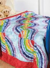 Free Quilt Patterns for Kids - Raggy Rainbow Quilt Pattern - Free ... & Raggy Rainbow Quilt Pattern Adamdwight.com