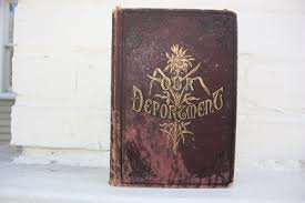 i just love old musty books i love the tatters and the stains and the musty smell i went to our huge chamblin book mine here