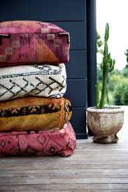 Floor Pillows And Poufs Best 25 Moroccan Floor Cushions Ideas Only On Pinterest Marocco