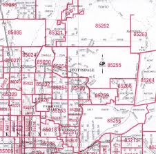 map of phoenix zip codes  afputracom