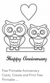 Printable Free Anniversary Cards Oo La Free Printable Anniversary Cards Create And Print Free
