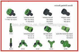 types of garden hose connectors hose