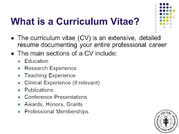 What Is A Curriculum Vitae Gorgeous Demystifying The Curriculum Vitae Psi Chi Workshop Dr Bettina Casad
