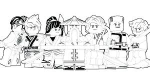 Lego Ninjago Coloring Pages To Print Free Printable Coloring Pages