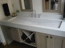 design basin bathroom sink vanities: fantastic trough sinks bathroom home design ideas ibuwe com