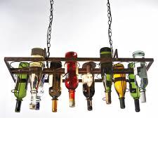 Wine Bottle Light Fixture Aliexpresscom Buy Recycled Retro Hanging Wine Bottle Vintage
