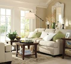 Pottery Barn Living Room Decorating Pottery Barn Sofa