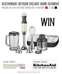 kitchenaid hand blender. kitchenaid giveaway win an artisan deluxe hand blender kitchenaid