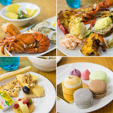 kitchen table with food. Seafood Dinner Buffet Kitchen Table W Hotel Singapore With Food
