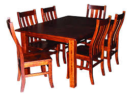 Cherry Wood Dining Room Table 8 Side Chairs, Solid Hardwood Amish Made Heirloom Diningroom Furniture, Craftsmanship for Generations, Amazon.com -