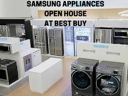 Where Can I Buy Appliances Samsung Appliances Open House At Best Buy Just Short Of Crazy