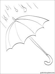 Kleurplaat Paraplu Gratis Kleurplaten