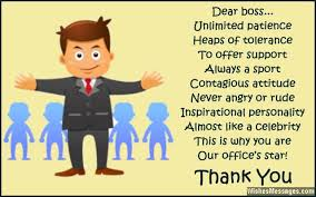 Thank You Quotes For Boss Stunning Thank You Notes For Boss Messages And Quotes To Say Thanks